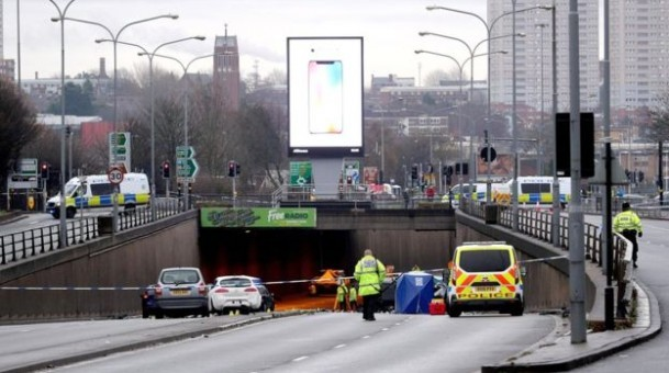 "Six people have been killed in a ""horrific"" crash in Birmingham"